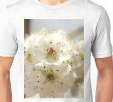 pear blossoms Unisex T-Shirt