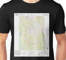 USGS TOPO Map Alaska AK Bradfield Canal B-6 363644 2000 63360 Unisex T-Shirt