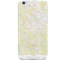 USGS TOPO Map Alaska AK Bradfield Canal B-6 363644 2000 63360 iPhone Case/Skin