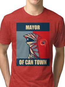 Mayor of Can Town Tri-blend T-Shirt
