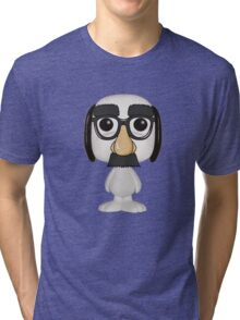 Snoopy Working Undercover Tri-blend T-Shirt