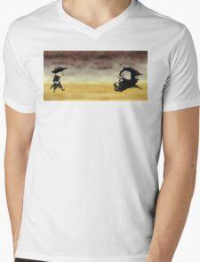 ...And the gunslinger followed Mens V-Neck T-Shirt