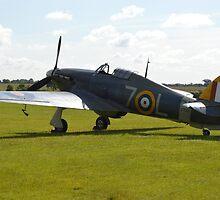 Shuttleworths Sea Hurricane Mk1B by Andy Jordan