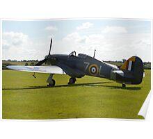 Shuttleworths Sea Hurricane Mk1B Poster