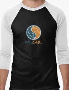 mysql database programming design Men's Baseball ¾ T-Shirt