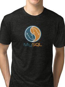 mysql database programming design Tri-blend T-Shirt