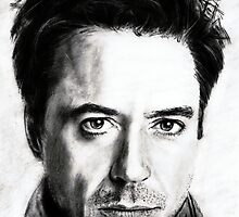 robert downey jr. ... pencil by danijelg