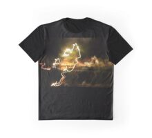 Lightning strikes Graphic T-Shirt