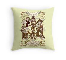 Lil steampunk Avengers Throw Pillow