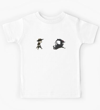 The man in black fled across the desert... Kids Tee