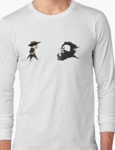 The man in black fled across the desert... Long Sleeve T-Shirt