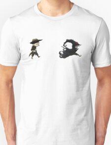 The man in black fled across the desert... Unisex T-Shirt