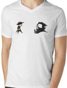 The man in black fled across the desert... Mens V-Neck T-Shirt