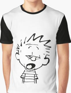 Calvin Mouthed Graphic T-Shirt