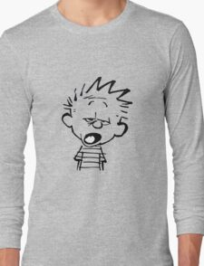 Calvin Mouthed Long Sleeve T-Shirt