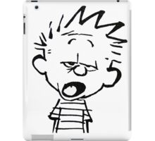 Calvin Mouthed iPad Case/Skin