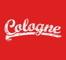 Cologne Classic Vintage Rot/Weiß Kids Tee