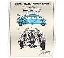 Motor Car Patent Poster