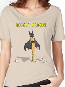 Angry Bat Man Women's Relaxed Fit T-Shirt