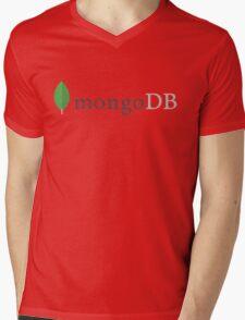 mongodb mongo database engine programming Mens V-Neck T-Shirt