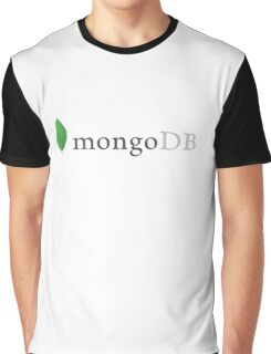 mongodb mongo database engine programming Graphic T-Shirt