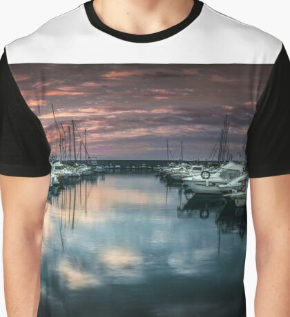 Sporting harbour of Fuengirola, Andalusia, Spain Graphic T-Shirt