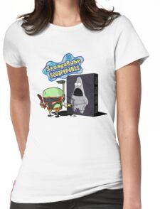 SpongeBobba Squarepants Womens Fitted T-Shirt