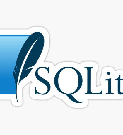 sqlite dabatase engine programming sql Sticker