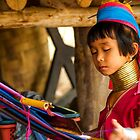Working the loom by indiafrank