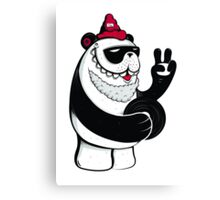 Peace Out Panda Canvas Print