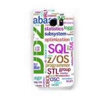 database engines languages cloud programming Samsung Galaxy Case/Skin