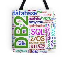 database engines languages cloud programming Tote Bag