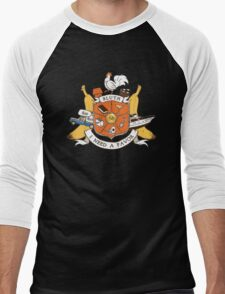 Bluth Family Crest Men's Baseball ¾ T-Shirt