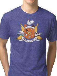 Bluth Family Crest Tri-blend T-Shirt
