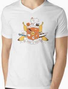 Bluth Family Crest Mens V-Neck T-Shirt