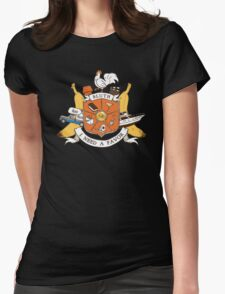 Bluth Family Crest Womens Fitted T-Shirt