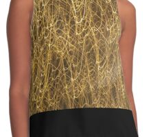 Golden lights Contrast Tank