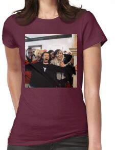 Human Traffic Womens Fitted T-Shirt