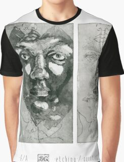 Experiment with faces #1-2 Graphic T-Shirt