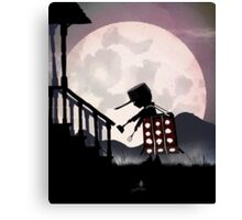 Dalek Kid Canvas Print