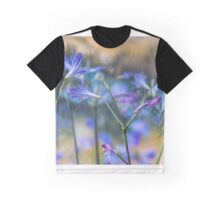 Blue flower wall decoration. Agapanthus Graphic T-Shirt