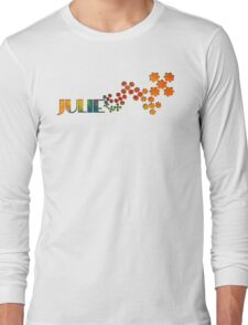 The Name Game - Julie Long Sleeve T-Shirt