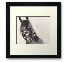 Batman - Pencil Drawing Framed Print