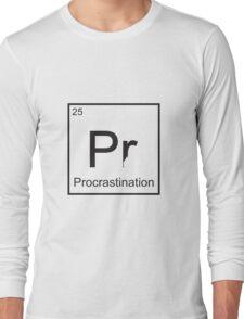 The Element of Procrastination Long Sleeve T-Shirt