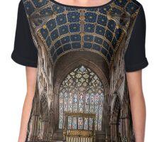 Carlise Cathedral2 Chiffon Top
