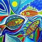 Fish for fun - bigger file by Karin Zeller