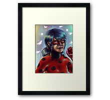 Miraculous ladybug! Framed Print
