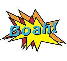 Boah comic Photographic Print