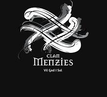 Clan Menzies - Prefer your gift on Black/White tell us at info@tangledtartan.com  Unisex T-Shirt