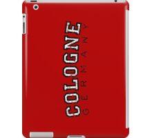 Cologne Germany Vintage (Schwarz/Weiß) iPad Case/Skin